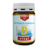 B-vitamin komplex 60 db kapszula dr.Herz