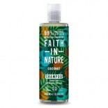 Sampon Kókusz 400ml-Faith in nature-festett hajra