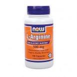 L-Arginine kapszula 500mg Now