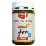 Dr.Herz Lysine HCL(Lizin) 1000mg + C-vitamin tabletta120db