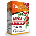 Mega C-vitamin 1500mg 100db Bioco