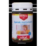 Dr.Herz Multivitamin Gyerek tabletta 60 db