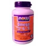 Omega 3-6-9 lágyzselatin kapszula 100 db Now