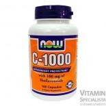 Now C-Vitamin 1000mg 100db kapszula bioflavoniddal és rutinnal