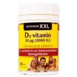 D3-vitamin 2000IU lágyzselatin kapszula