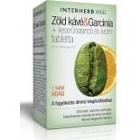 Zöld kávé & Garcinia + keserűnarancs és króm tabletta