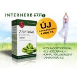 Zöld kávé Extraktum + Króm kapszula 30 db - Új termék